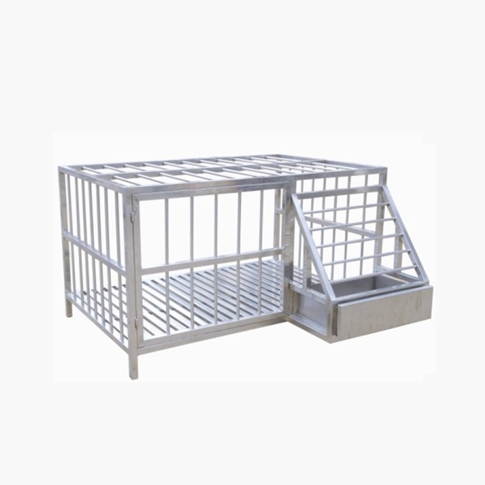 LTVH08 Single stainless steel dog cage