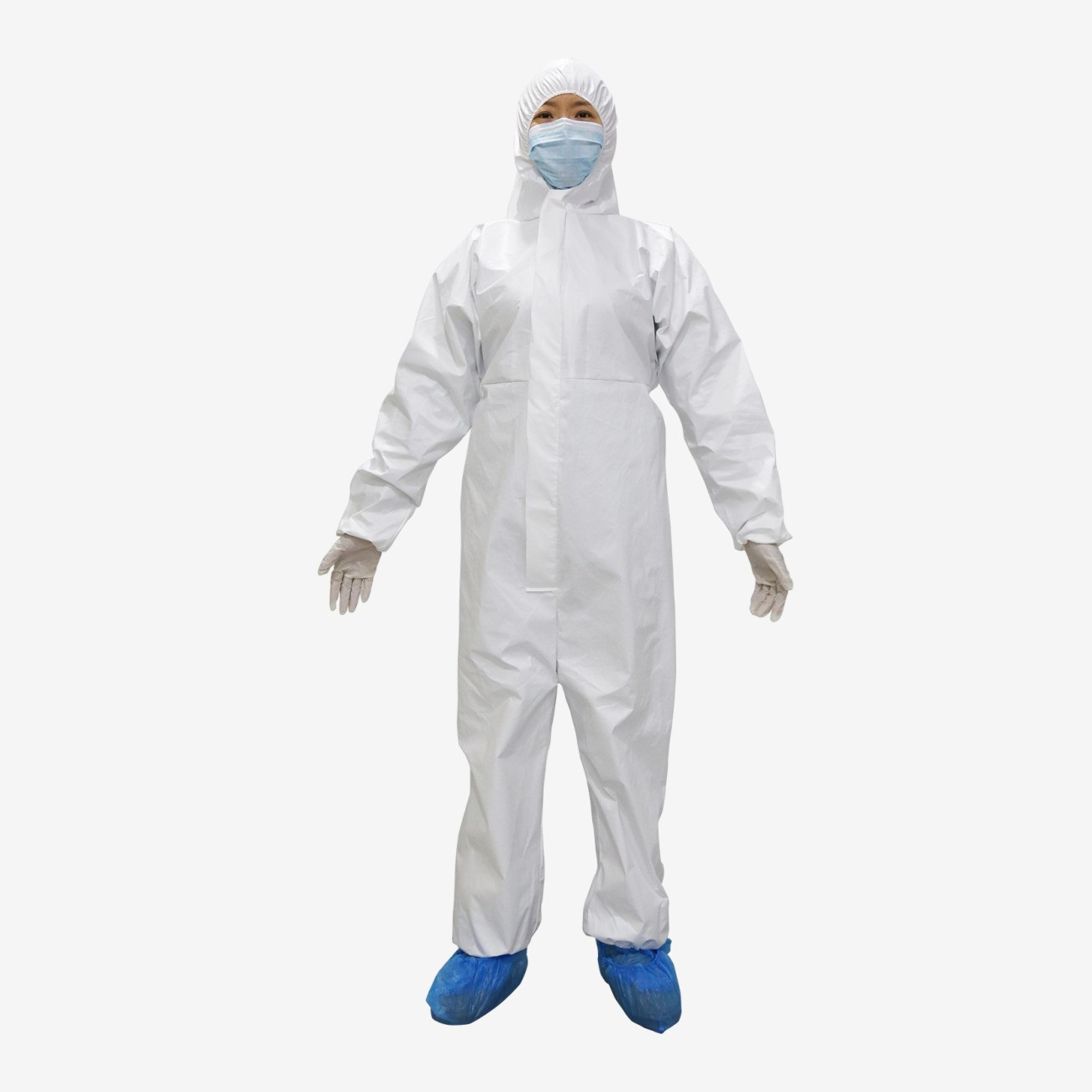 COVID-19 Disposable Isolation coveralls